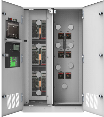 400 A eSTS Static Transfer Switch IR Portholes Interactive Demo