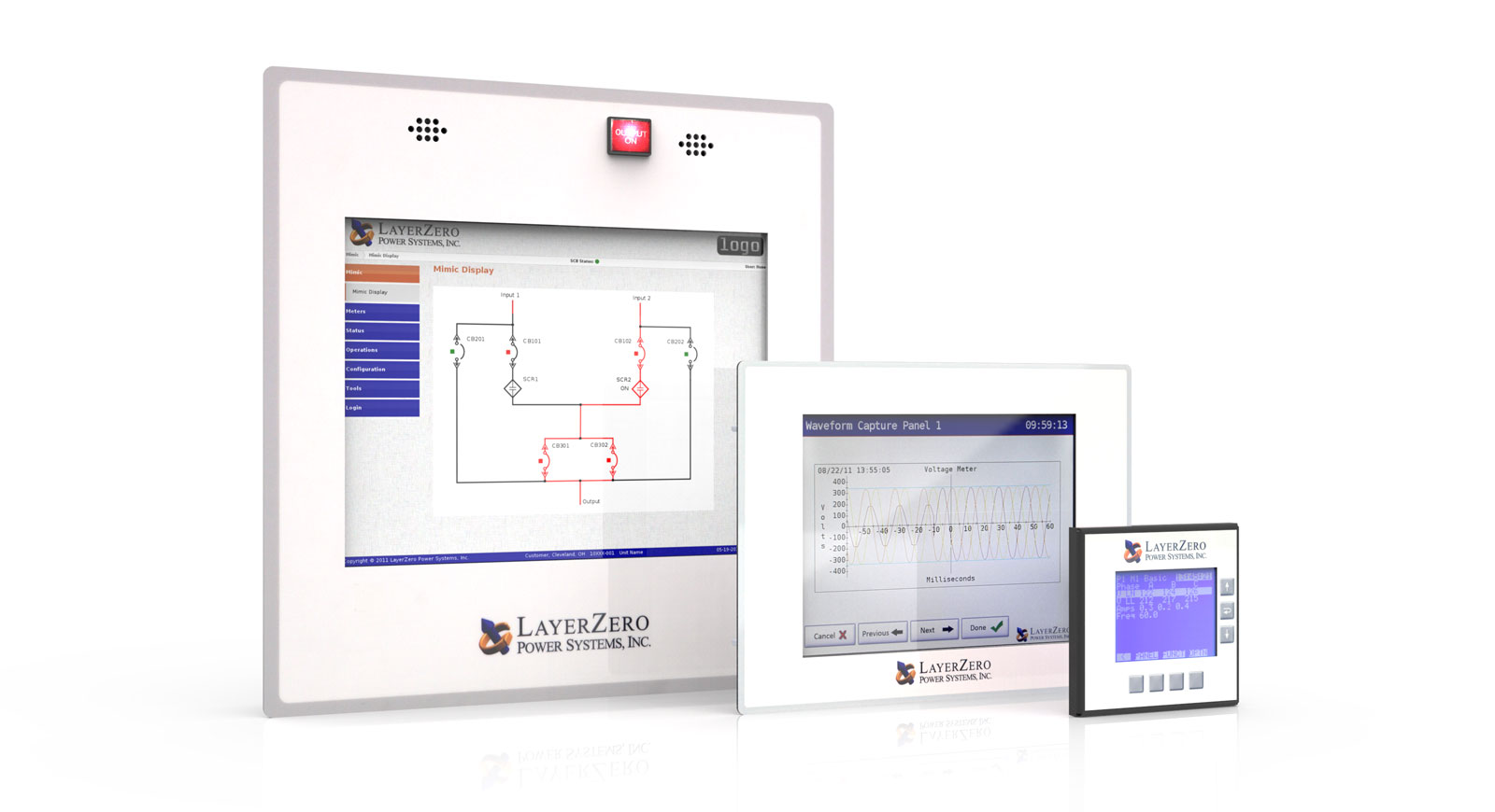 LayerZero Touch Screen Display