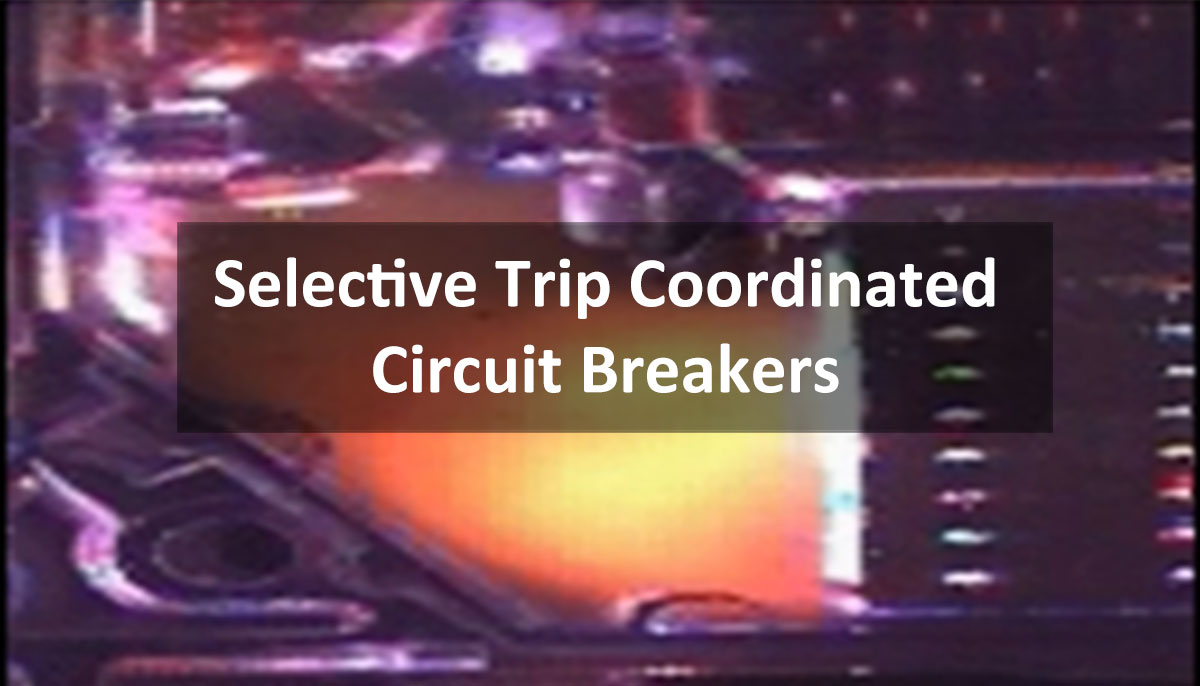 Selective Trip Coordination Slow Motion Circuit Breaker Video