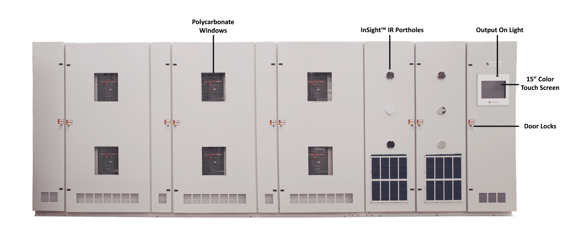 eSTS Static Transfer Switch Exterior