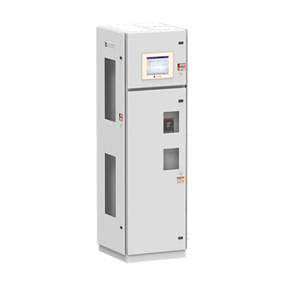 Remote Power Panel with Front and Side Access