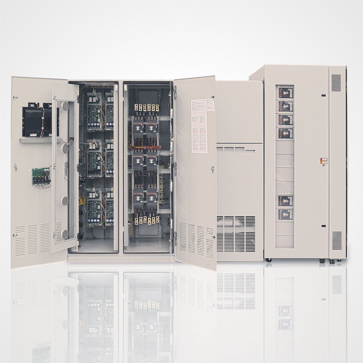 The LayerZero Series 70 ePODs: Type-P Power Distribution Unit (PDU) Static Transfer Switch section.