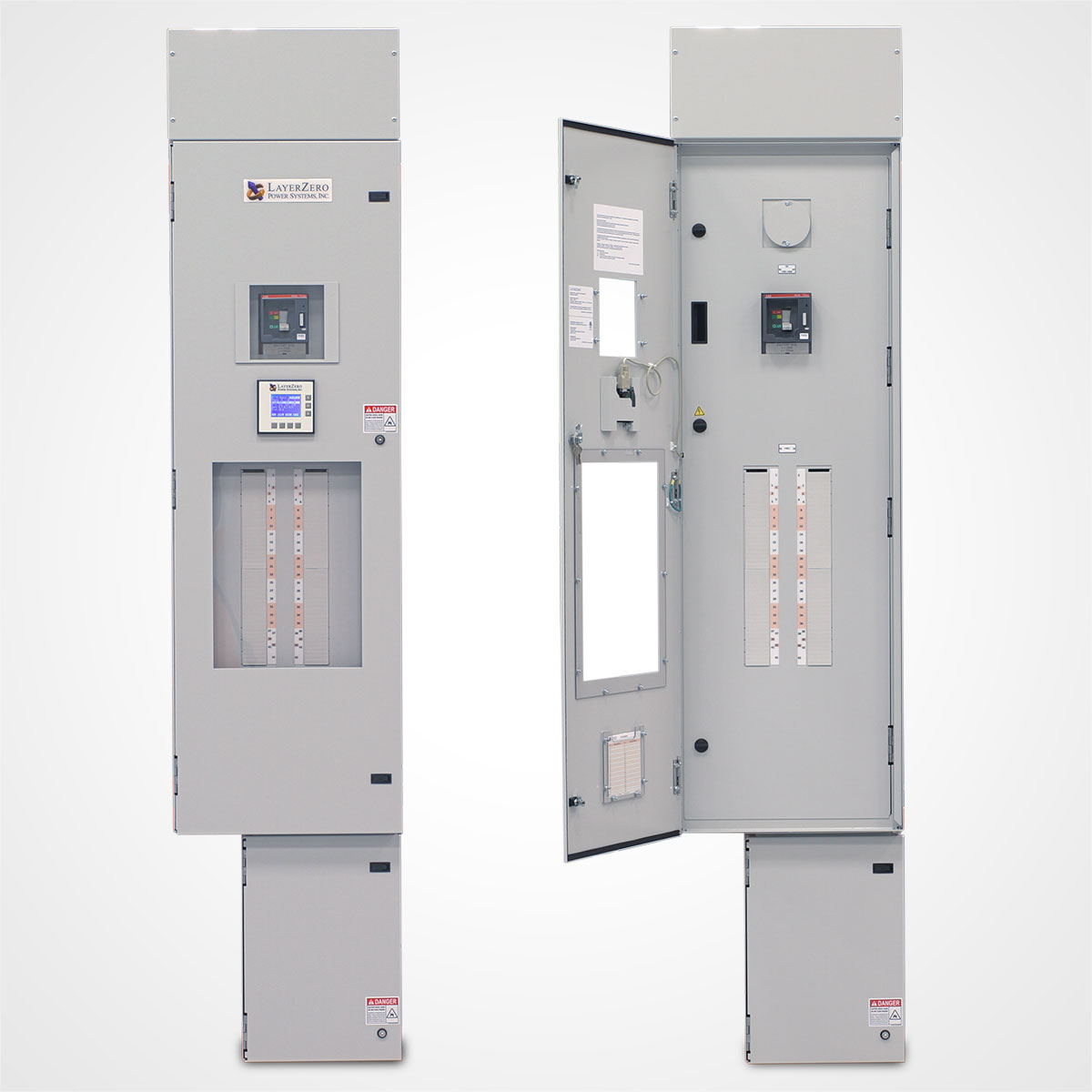 The LayerZero Series 70: ePanel-1 Wall-Mounted Power Panel.