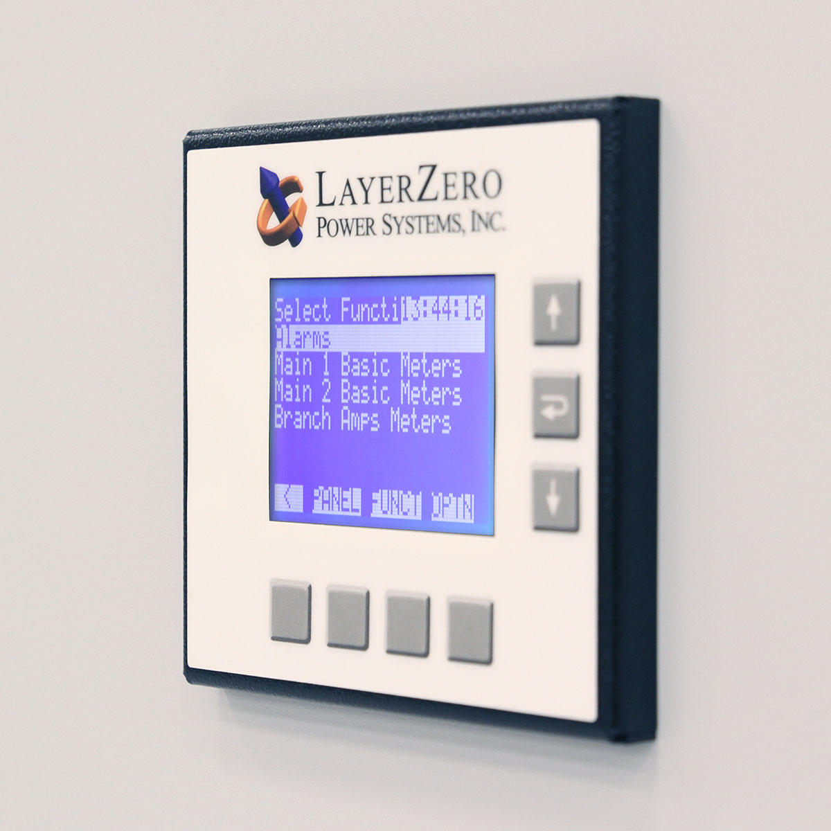 The LayerZero Series 70: ePanel-1 Compact Local LCD Display.