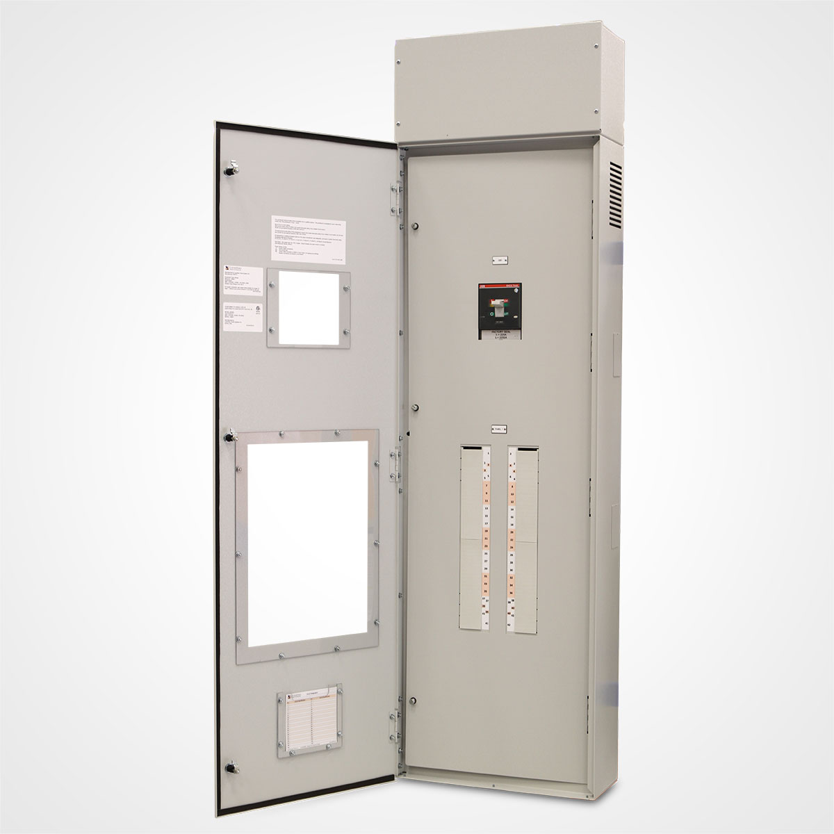 The LayerZero Series 70: ePanel-1 with Outer Door Open.