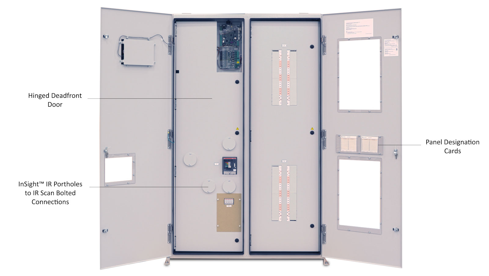 ePanel-2 Remote Power Panel Outer Door Open