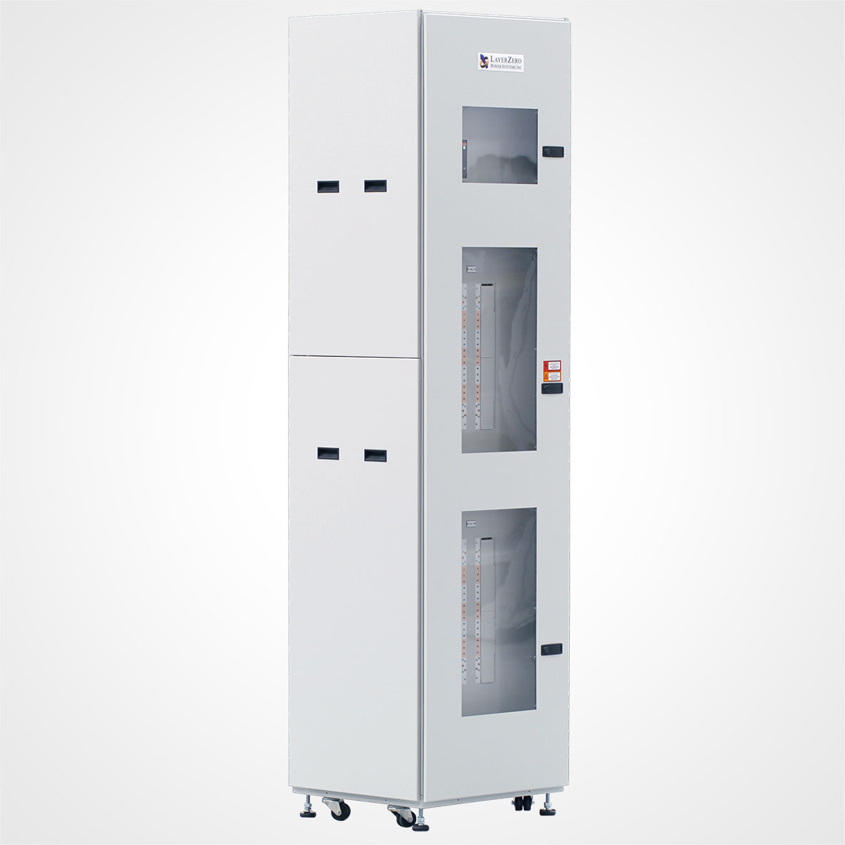 The LayerZero Series 70: eRPP Remote Power Panel Front Angle.