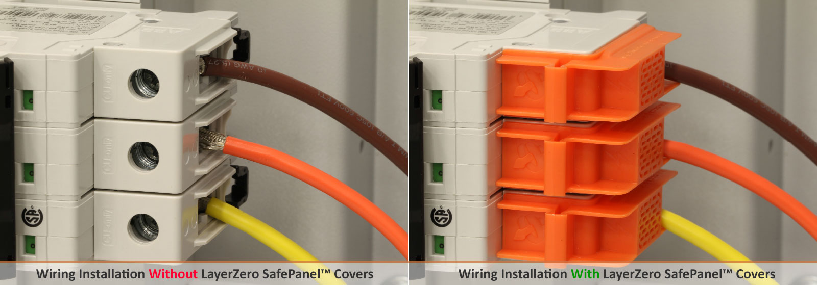 Safe Electrical Wiring with LayerZero Shrouds